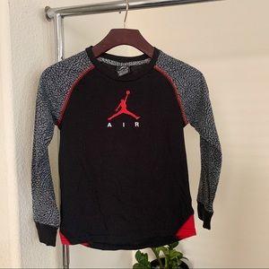 Nike Air Jordan Long Sleeve Top.